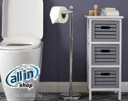 Premier álló WC-tekercs tartó - Króm