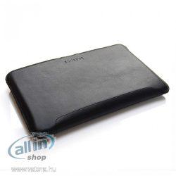 Samsung T21-1207 - Fekete bőr tok a Galaxy Tab D30 technológiával, szín: fekete