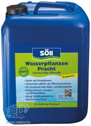 Söll Vízinövény tápszer,5 Liter, Made in Germany