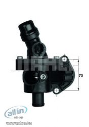 TERMOSTAT MAHLE TM6109 VW GOLF V JETTA PASSAT TOURAN