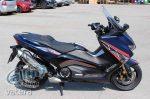 Uniracing 46470 Matrica Kit , Yamaha T-Max 530 17'-18, Piros