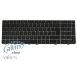 HP 583292-041 német fekete billentyűzet,HP Prrobook 6440b