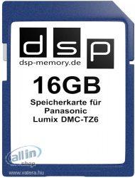 DSP 16 GB memóriakártya a Panasonic Lumix DMC-TZ6