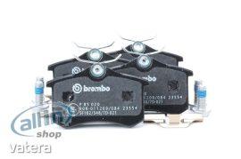 BREMBO P85020 fékbetét készlet, tárcsafék kopásjelző érintkező nélkül