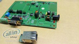 Moxa MiiNePort E1-ST sorozat Starter Kit Modullal