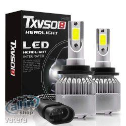 TXVSO8 LED automatikus fényszóró izzó átalakító készlet 55W autó lámpa 6000K