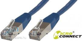 MicroConnect S / FTP CAT6 7m Patch Kábel ,Kék