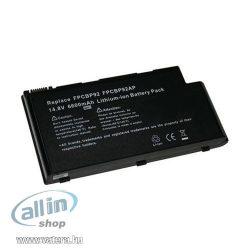Fujitsu FPCBP105 6600mAh 14.8V utángyártott notebook akku Li-ion