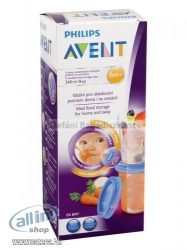 PHILIPS AVENT Via pohár +tető,180ml, 5 db