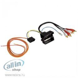 Hama Active System Adapter / Audi / Bose Quadlock fekete kábel interfész / gender adapter