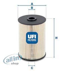 UFI 26.021.00 Üzemanyagszűrő