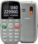 Gigaset GL390 Mobiltelefon, Kártyafüggetlen, Dual SIM, Titán Ezüst