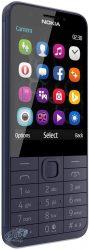 Nokia 230 Dual SIM Kártyafüggetlen Mobiltelefon, Sötét Kék (NINCS MAGYAR MENÜ!)