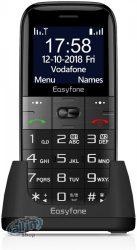 Easyfone Prime A2 időstelefon nagy gombbal, egyszerűen használható