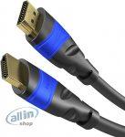 KabelDirekt 4K HDMI-kábel fémcsatlakozókkal - 20m