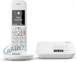 Gigaset E370A analog telefon fehér