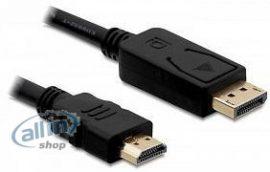 Delock 83806 2m Displayport 1.2 4k kábel