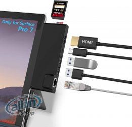 Surface Pro 7 Hub dokkoló állomás ,kombinált adapter