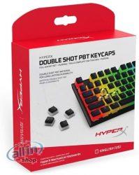HyperX HXS-KBKC3 Double Shot PBT Gaming Keycaps kompatibilis a HyperX billentyűzetekkel, Angol