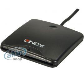 LINDY USB 2.0 chipkártya-olvasó (42768)