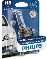 Philips WhiteVision H8 +60% 12360WHVB1 1db/bliszter