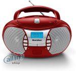 Karcher RR 5025-R hordozható CD-rádió