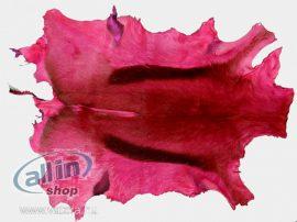 Trophy-Art festett valódi antilop bőr, rózsaszín,dekor