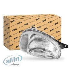TYC 20-3203-95-2 fényszóró jobb, H4, Opel Corsa